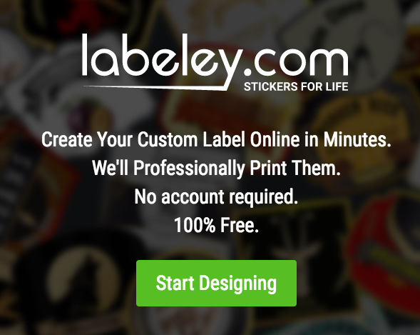 Design Your Own Labels for Free with Labeley