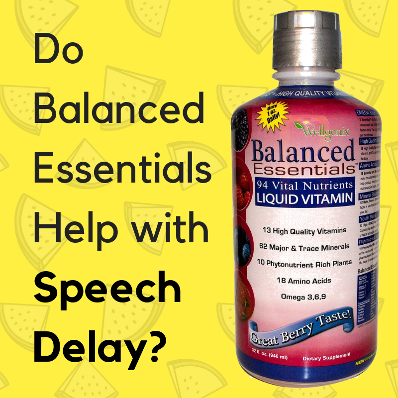 Balanced Essentials for Speech Delay: Does It Really Work?