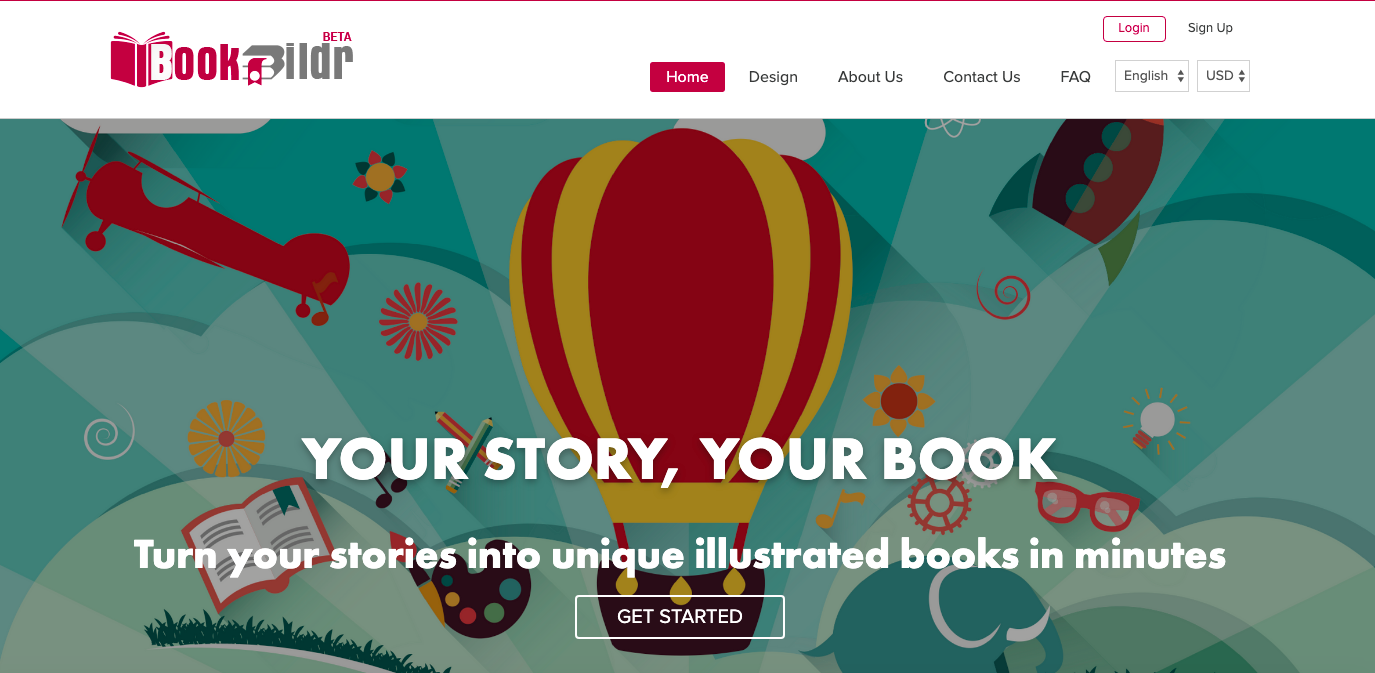 Write, Illustrate, and Print Your Own Picture Book with BookBildr